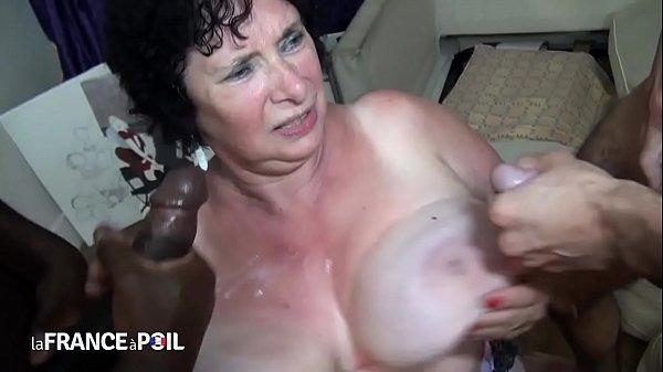 Granny French Fuck